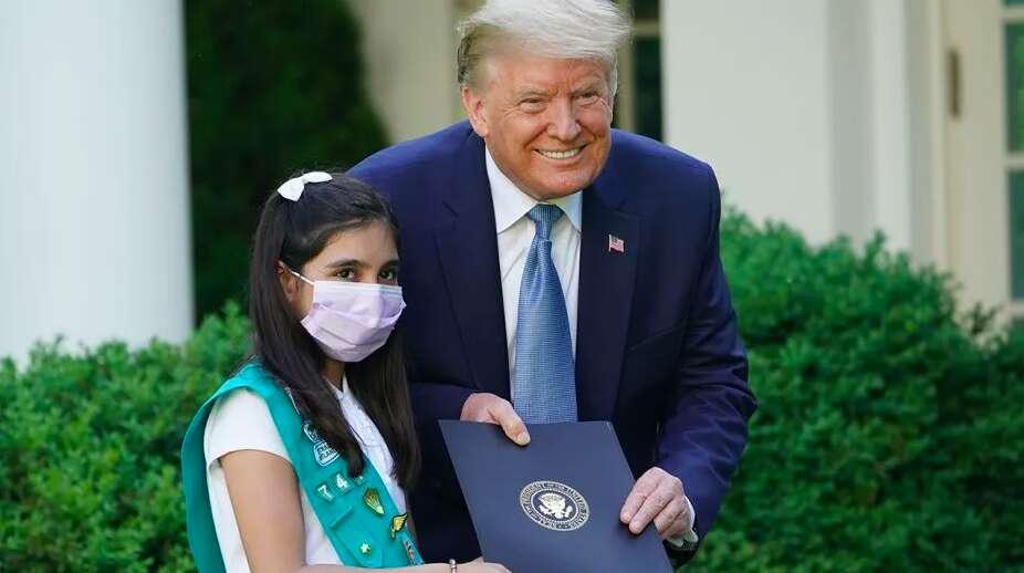 Donald Trump, coronavirus, covid-19, Melania Trump, Laila Khan