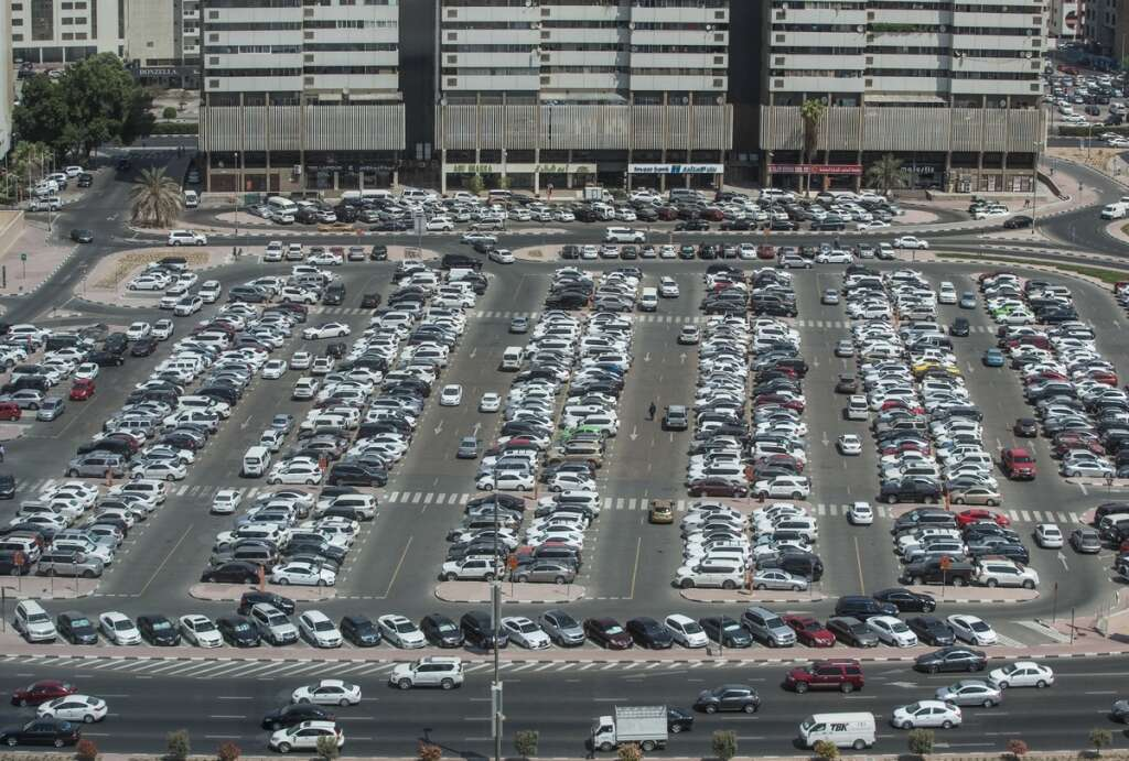 Dubai has so many cars, but what about parking spaces?