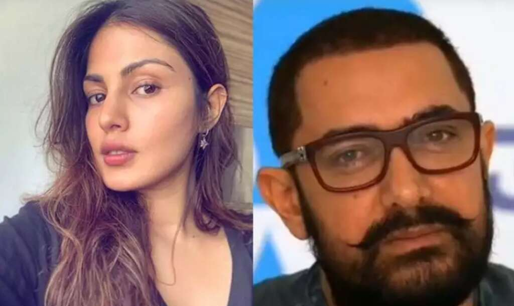 Rhea Chakraborty, Aamir Khan, Bollywood, actor, actress, Sushant Singh Rajput, death, investigation, case, call details, records