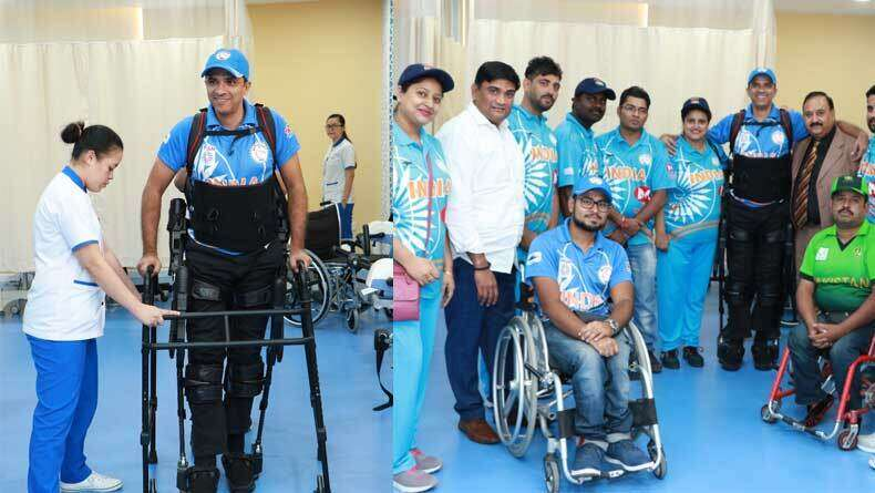 Wheelchair-bound cricketer walks for first time in UAE after 11 years