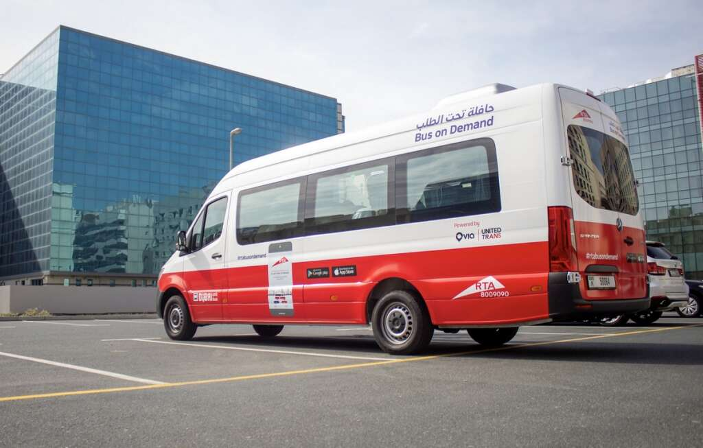 Dubai passengers take 84k journeys using Bus On-Demand service