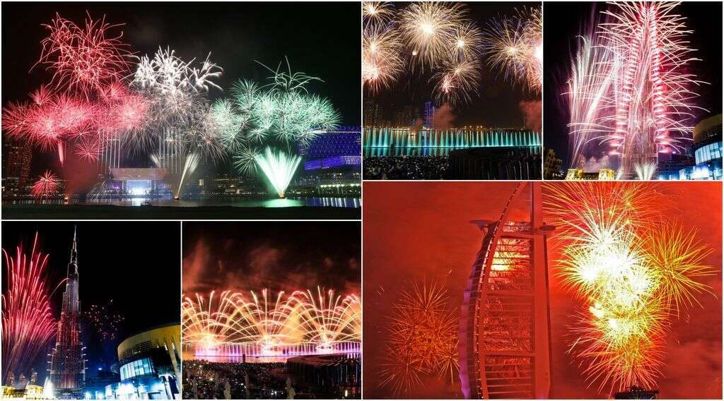 WATCH: UAE rings in 2017 with dazzling fireworks display