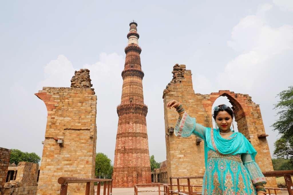 Qutub Minar, Humayun