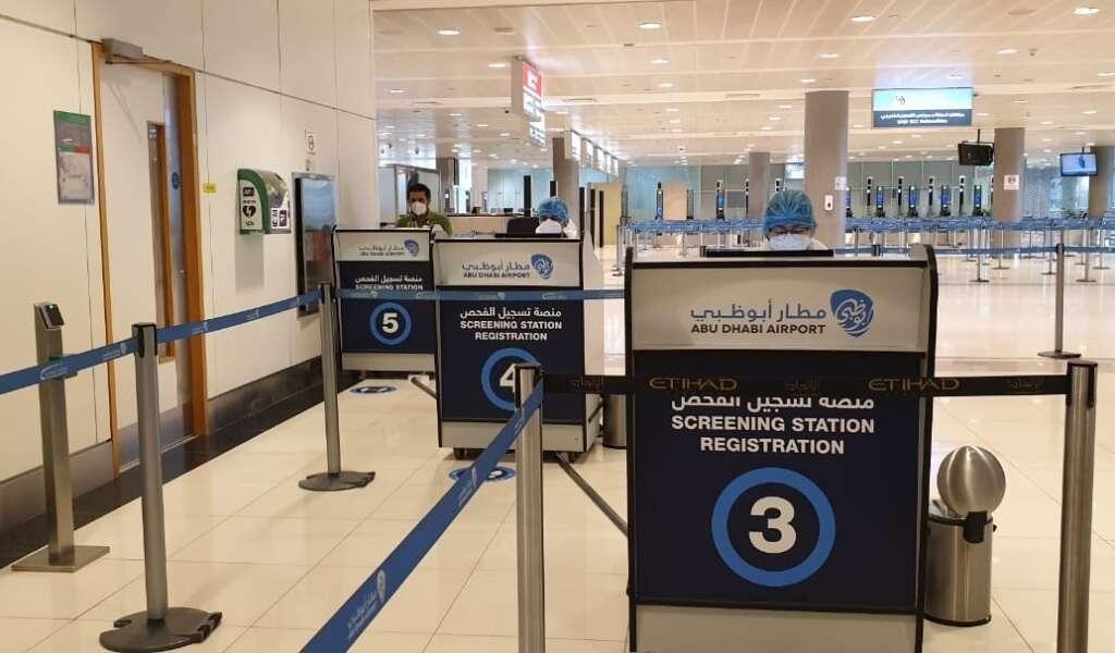 Combating, covid19, coronavirus, Over 51,000, Covid-19 tests, conducted, Abu Dhabi Airports