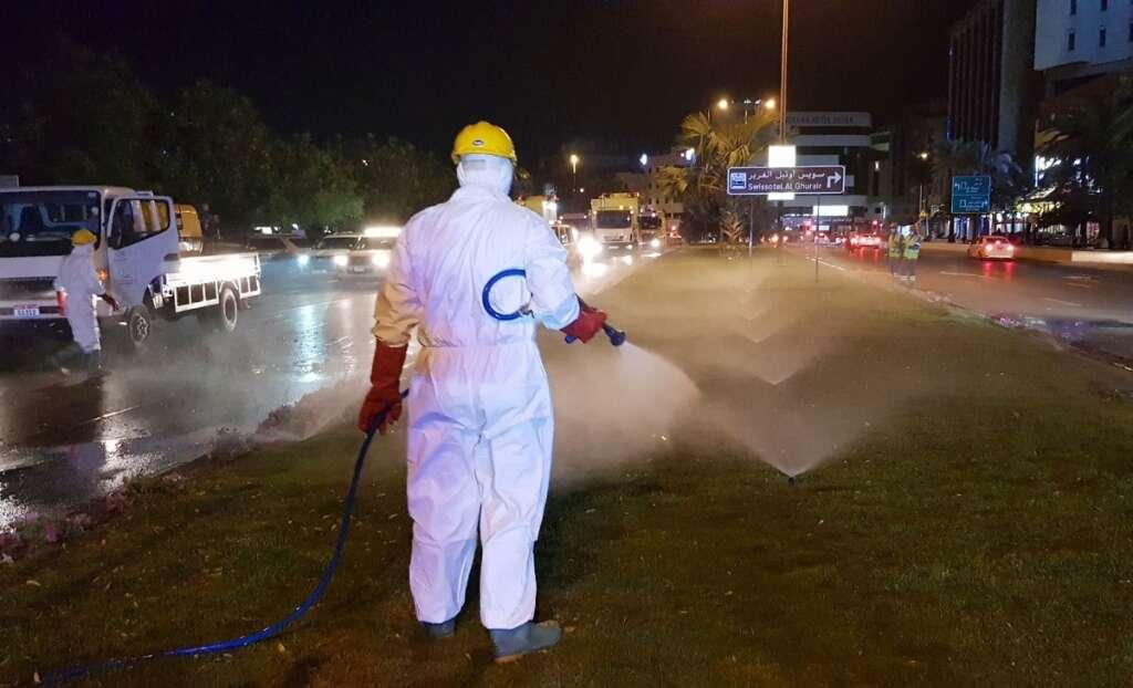 Coronavirus, UAE, Massive, cleaning, operations,underway