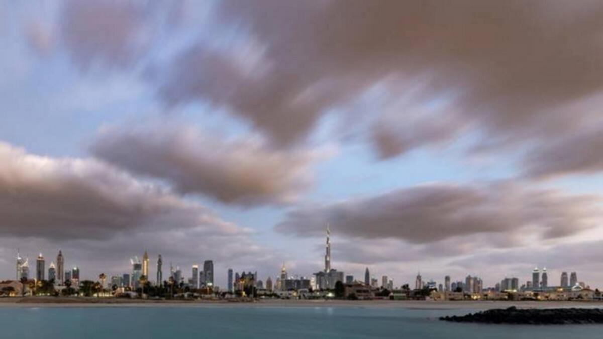 UAE weather: Expect cloudy, hazy skies, daytime winds