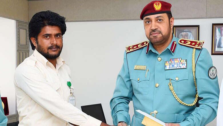 Brave Pakistani expat honoured by police in UAE