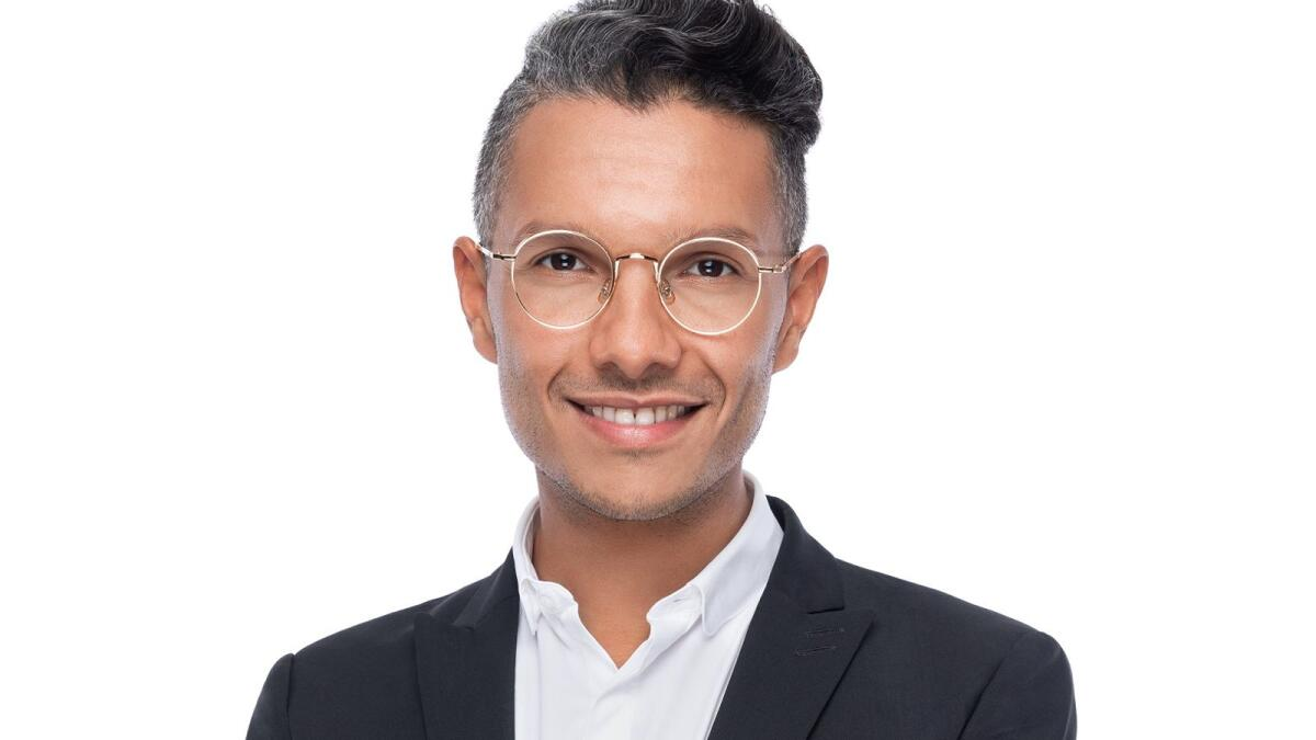 Mehdi Moutaoukil, L'Oréal Middle East's chief marketing officer