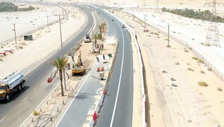 New UAE road to reduce travel distance by 35km - News
