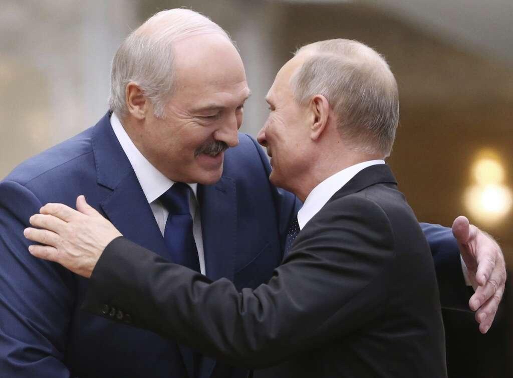 Belarus, Vladimir Putin, reserve police