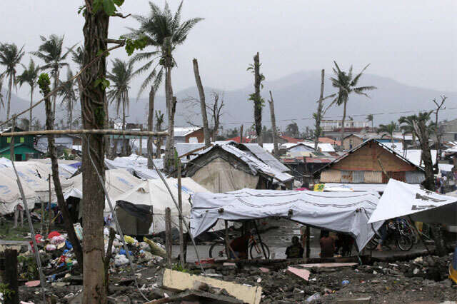 Philippines braces for impact of powerful typhoon