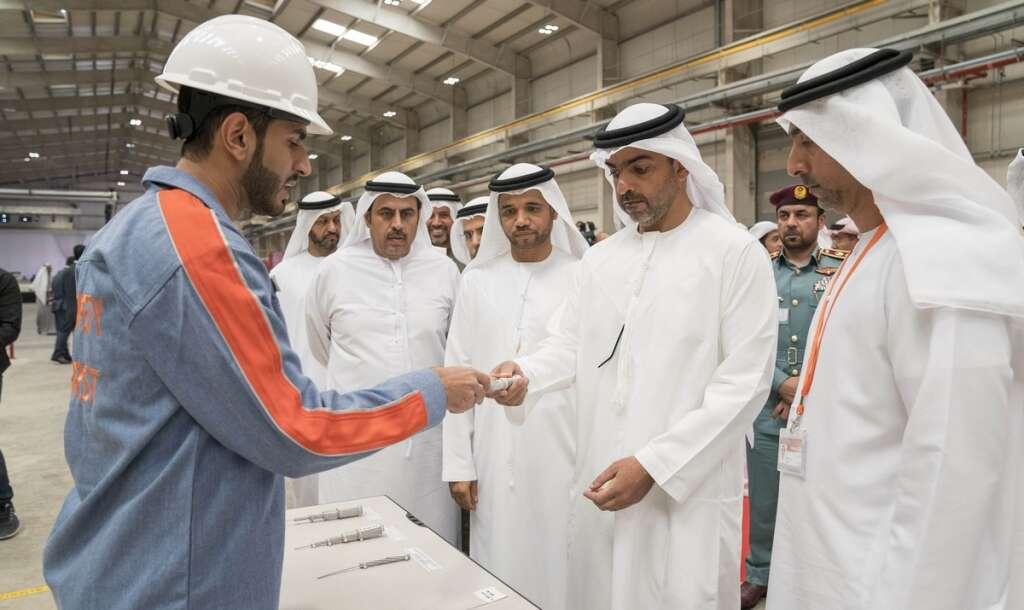 Dh220 million aluminium plant opens at Kizad