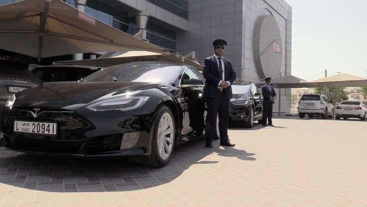 Video: An exclusive look inside Dubais latest Tesla taxis
