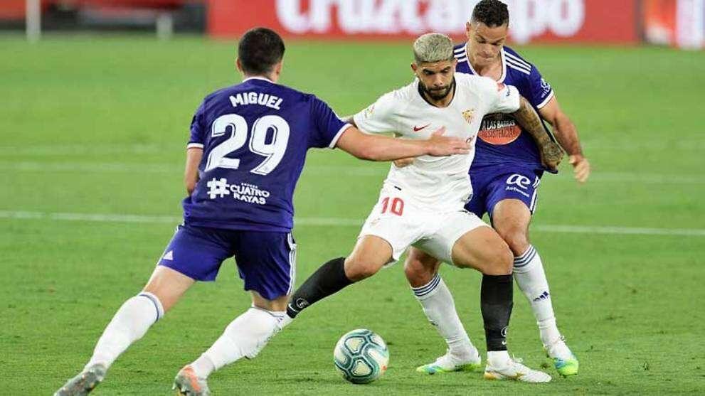Sevilla, Real Valladolid, La Liga, draw, 1-1