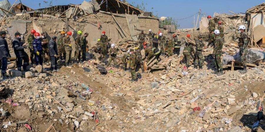 Missile attack, Karabakh fighting, armenia,