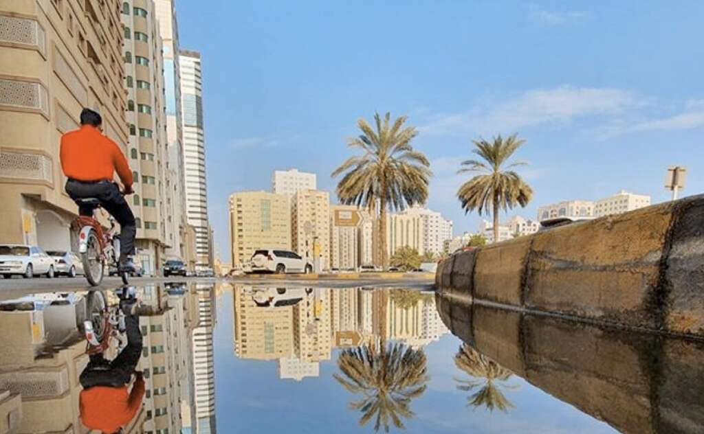 Cloudy weather in UAE, weather forecast, UAE weather,  partly cloudy,