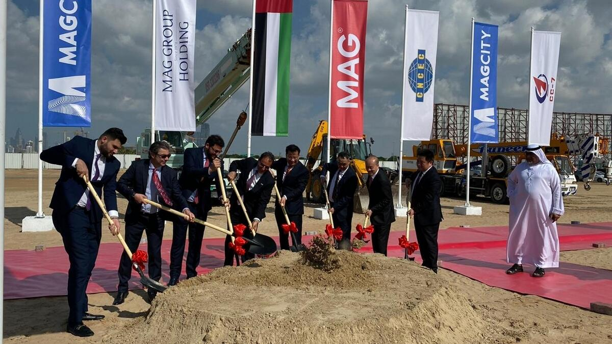 Foundation stone laid for MAG City