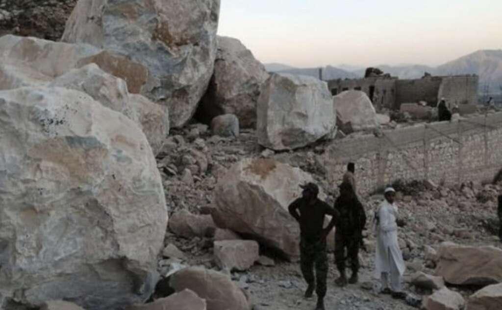 Pakistan mine rockslide, Pakistan