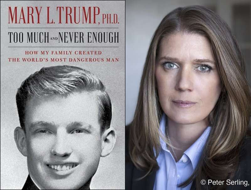 Mary Trump, Donald Trump, Too Much and Never Enough