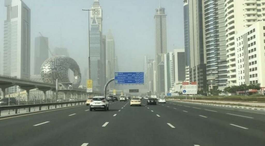 Weather warning issued in UAE, poor visibilty, dust