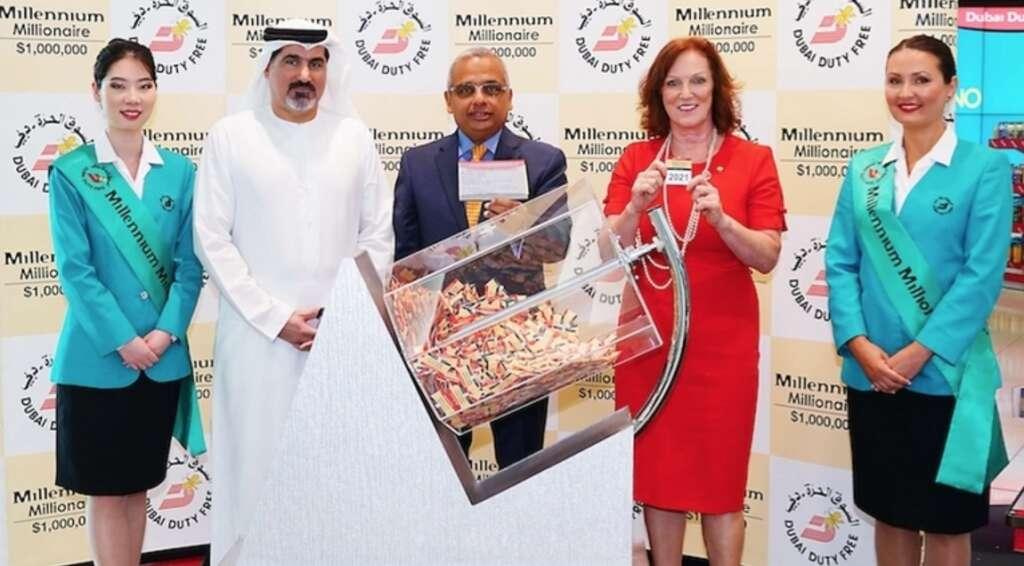 Big Ticket Abu Dhabi, Dubai Duty Free, millionaire, raffle