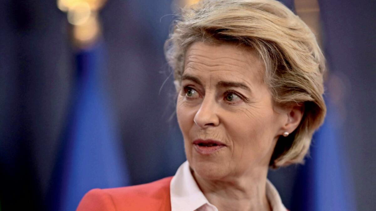 European Commission President Ursula von der Leyen. – AFP