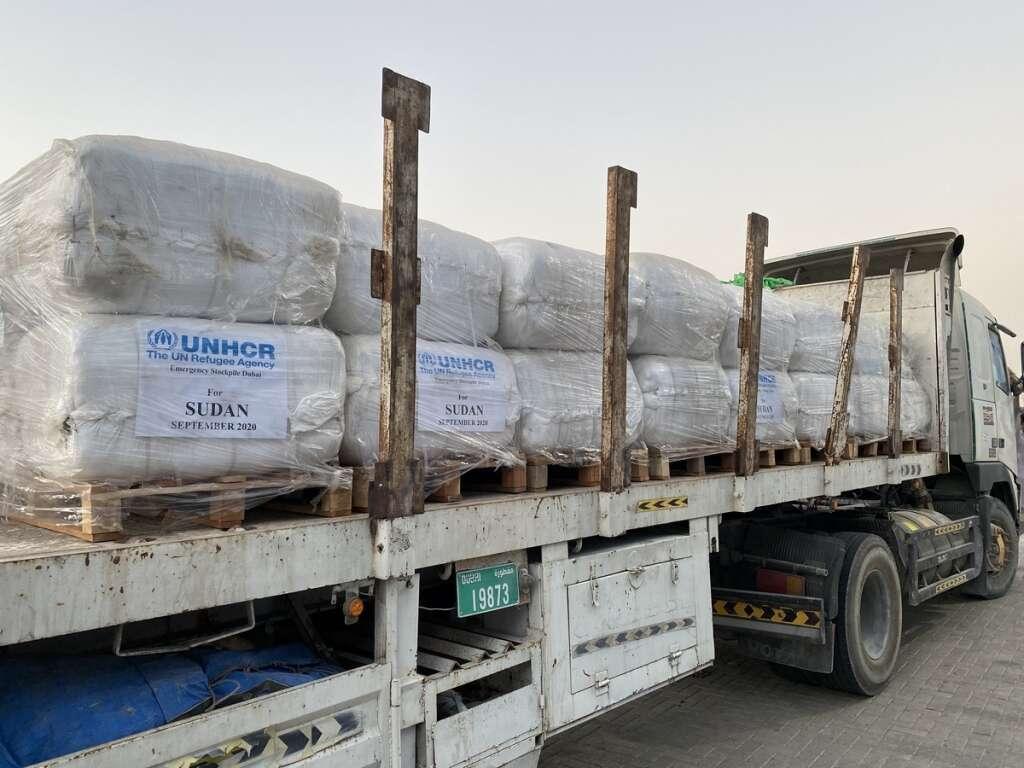 Emergency aid, Dubai, dispatched, assist, Sudan, flood victims