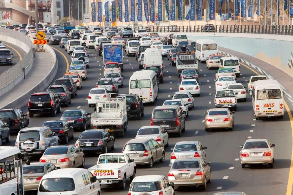 Dubai, accident