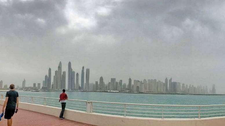 uae, weather, rain, likely, parts, saturday, partly cloudy, dusty, day, national center of meteorology