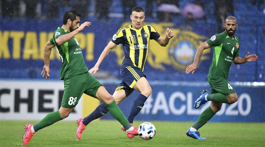 Al Wahda rally to hold Saudi Arabias Al Ahli; Pakhtakor edge past Shabab Al Ahli in AFC Champions League