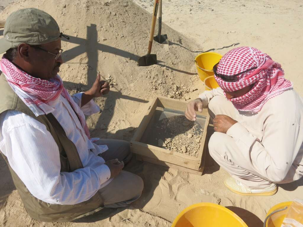 7,500-year old house, skeleton found in Abu Dhabi