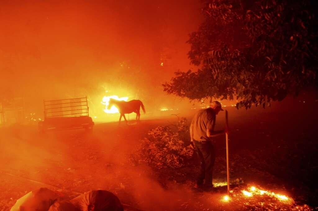 San Francisco, Bay Area, 30 wildfires