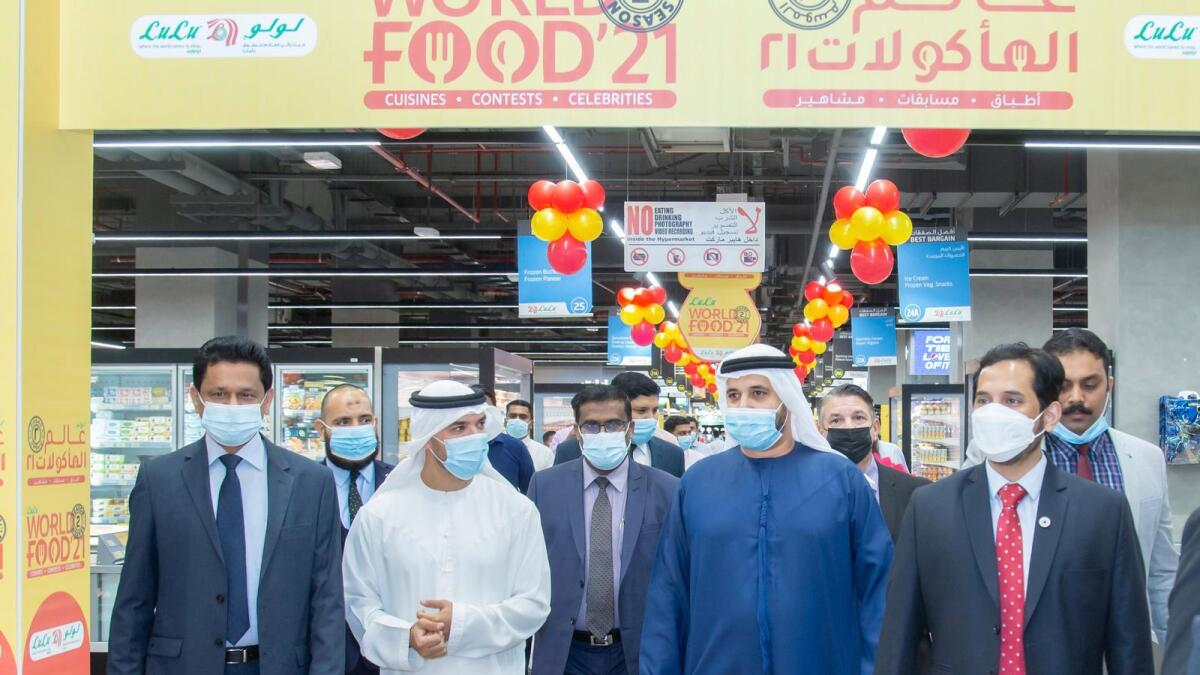 Gastronomic parade of flavours at Lulu World food festival