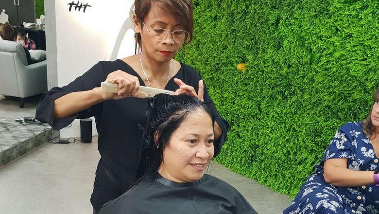 dubai salon, free haircut, nannies, nanny, free, haircut