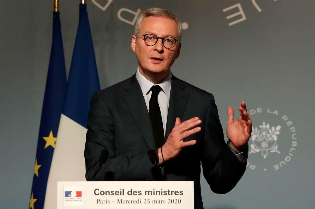 European Union, International Monetary Fund, Bruno Le Maire, coronavirus, Covid-19