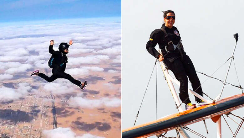 Watch: Dubai royal family princess Shaikha Latifa who jumps out of planes for thrills
