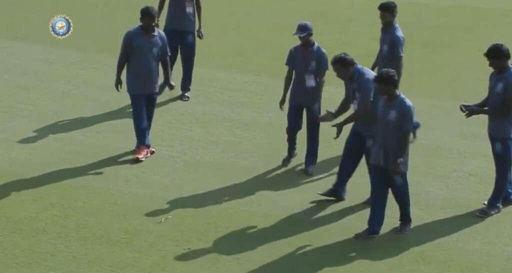 BCCI, Ranji Trophy, Vidarbha, Andhra, Snake, cricket