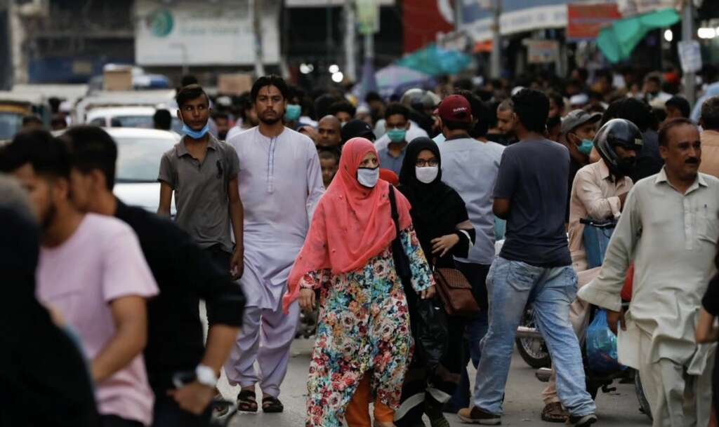 Pakistan, sees, fewest, Covid-19 deaths, since March