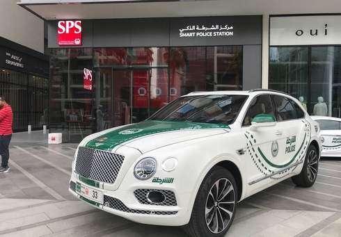 Dubai Police add Bentley Bentayga to luxury car fleet