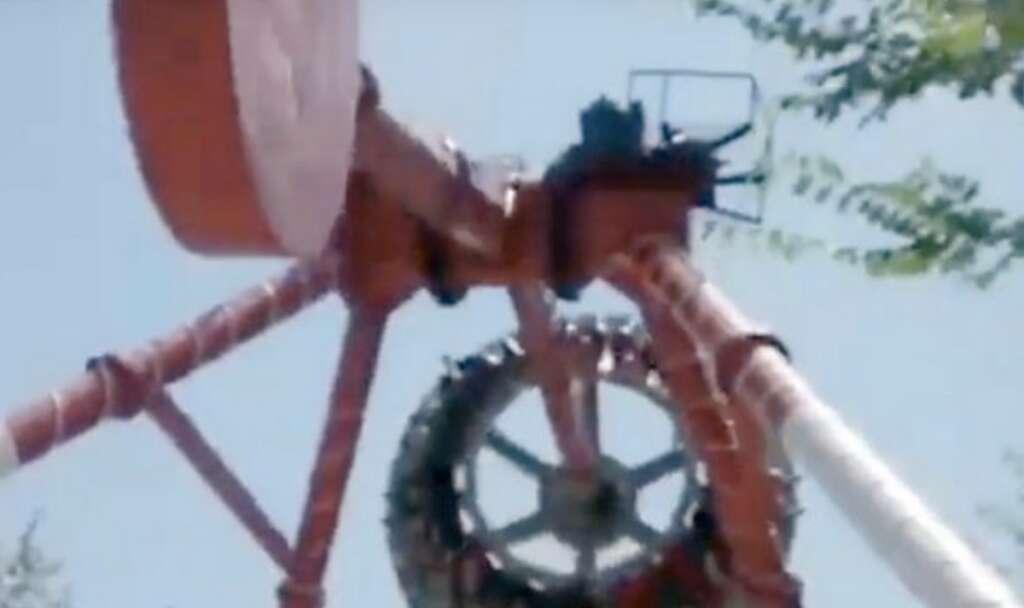 Video: Woman dies after 360-degree ride breaks apart mid-air