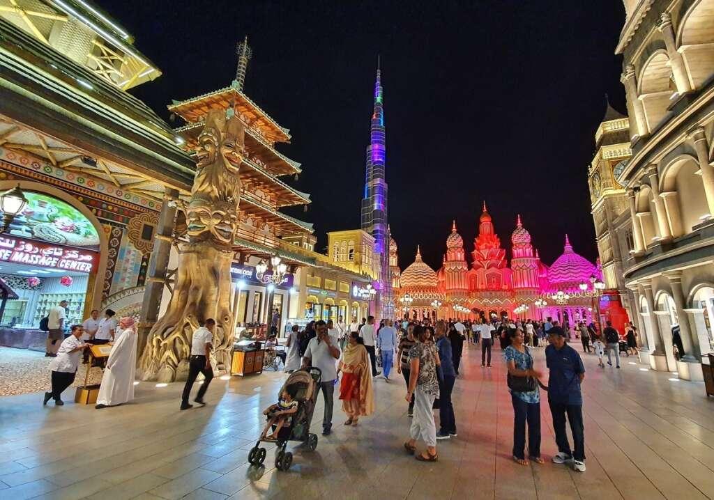 Dubai, Global Village, visitors, world's 4th best attraction,  multi-cultural festival park