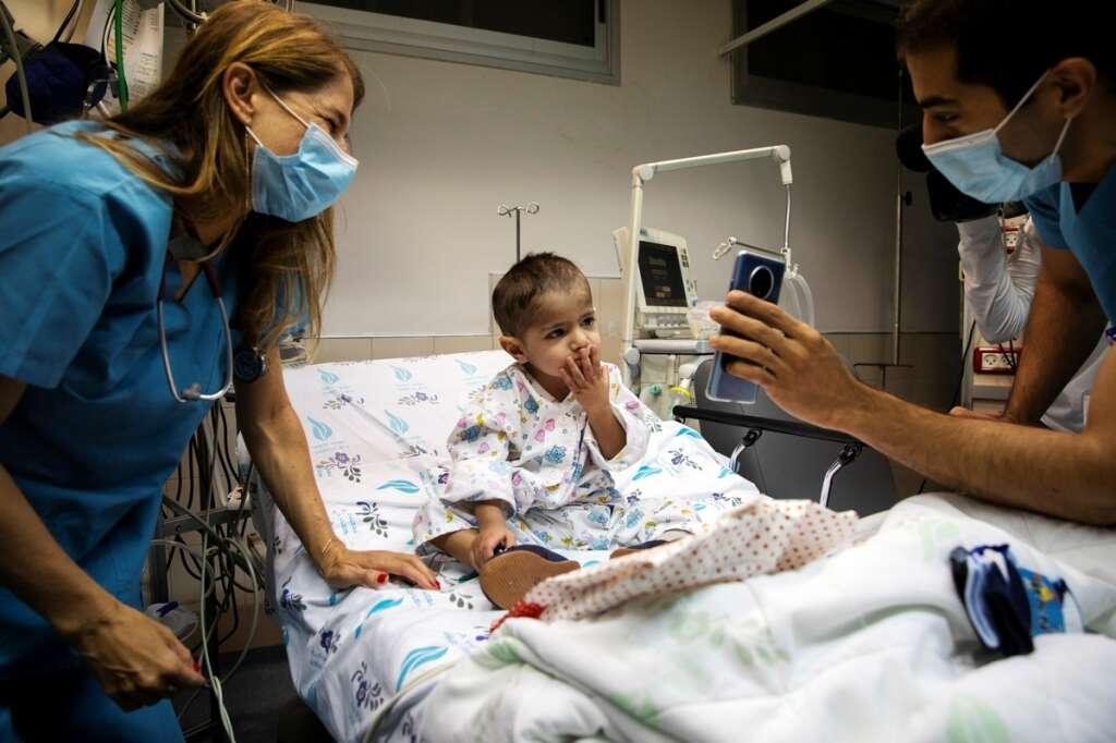 Heart, surgery, alone, Palestinian, boy, Hamza Ali Mohammad, mother, Israel, coronavirus, Covid-19