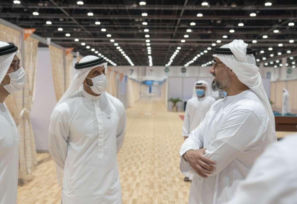 Sheikh Khalid bin Mohamed bin Zayed Al Nahyan, UAE, Abu Dhabi, Dubai, coronavirus, Covid-19