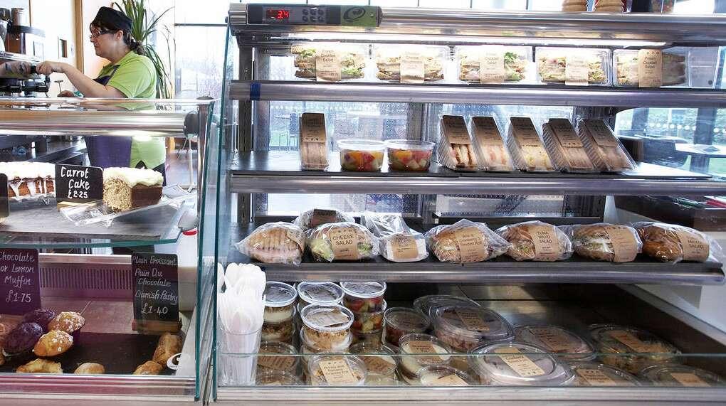 sandwich, company canteen, citigroup, london
