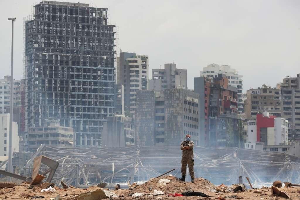 Lebanon, taken, into, custody, 16, individuals, investigation, Beirut, port, warehouse, explosion, blast