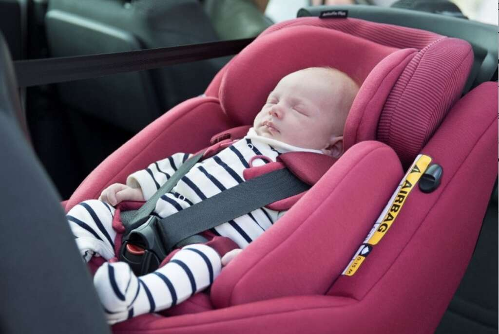 First child car seat with airbags launched in UAE