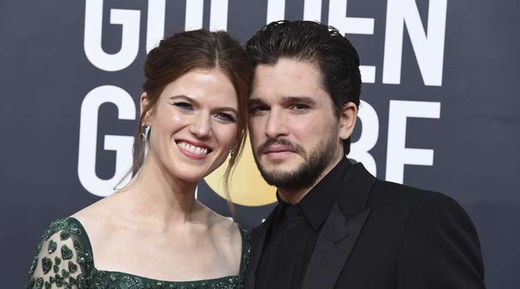 Game of Thrones, Rose Leslie, Kit Harington, baby, first, child, expecting, pregnancy, parents, actors