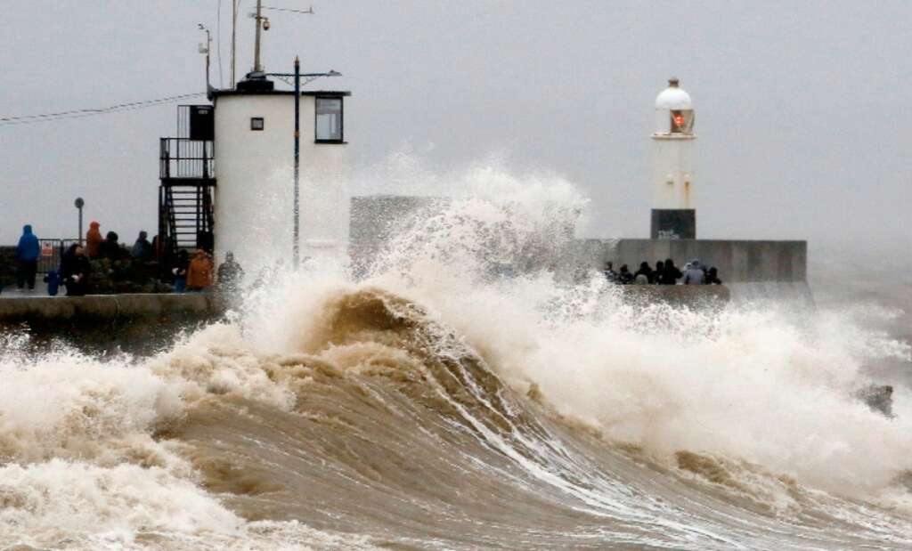 Storm Dennis, danger to life warning, weather warning,Storm, flood
