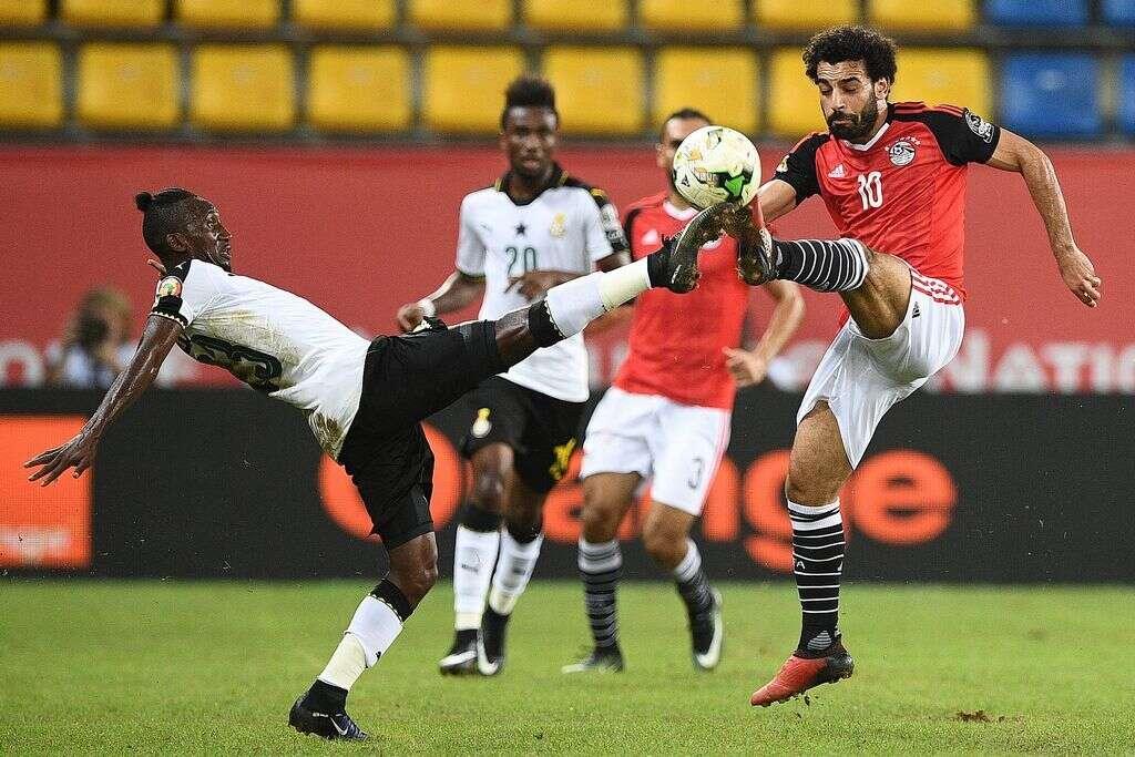 Salah sinks Ghana as Egypt reach African quarterfinals