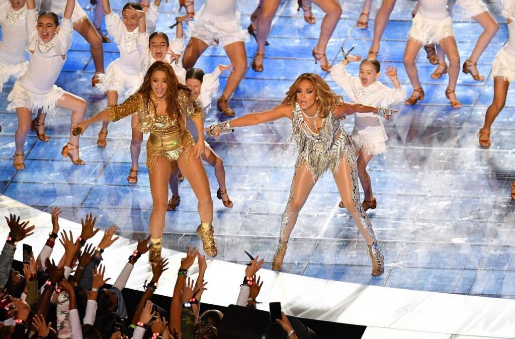 Halftime lessons from Shakira, 43, and J Lo, 50